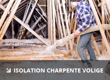 isolation charpente volige
